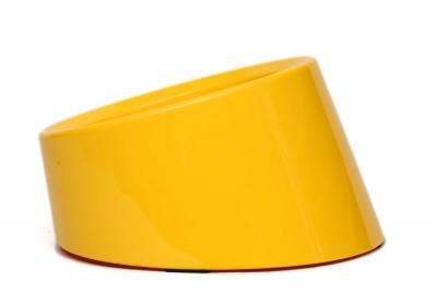 ML990383 L Sarı Yatay Mama Kabı