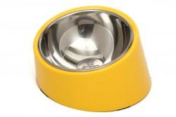 Super Design - ML990383 L Sarı Yatay Mama Kabı