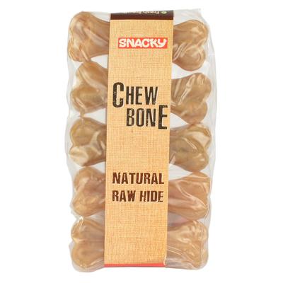 Snacky - Nat.Çiğneme Kemiği 7,5 cm 25 gr 5 Ad.10'lu Kutu