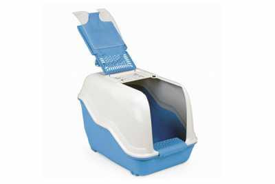 Netta Filtreli Çift Açılır Kapalı Kedi Tuvaleti