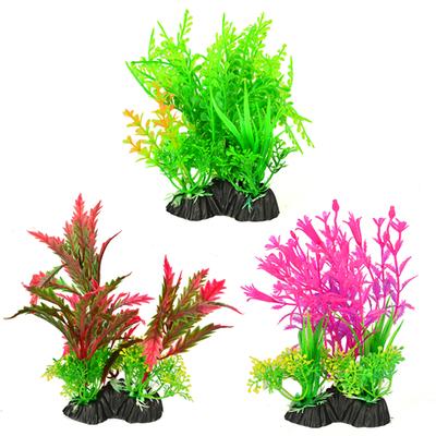 Natural Coral - P521-516 Plastik Bitki 15 cm 6 Adet