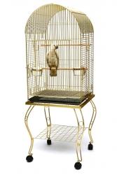 Fit Fly - P922 E Ayaklı Papağan Kafesi Pirinç