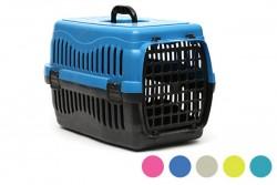 Pet Style - Pati Desenli Büyük Taşıma Plastik Kapılı