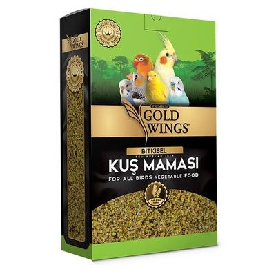 Gold Wings Premium - Premium Bitkisel Kuş Maması 1 Kg.