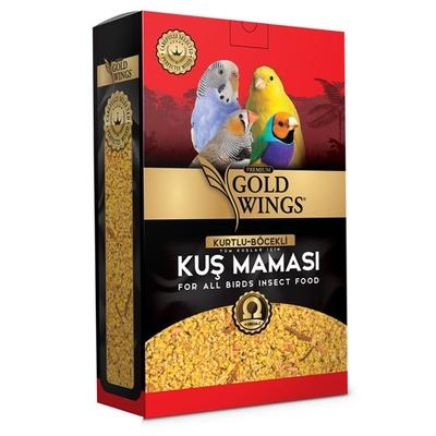 Gold Wings Premium - Premium Böcekli Kuş Maması 1 Kg.
