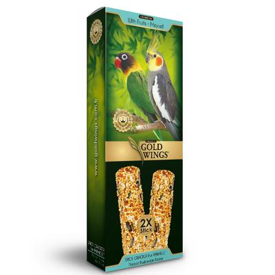 Gold Wings Premium - Premium Paraket 2'li Kraker Meyveli 6'lı.