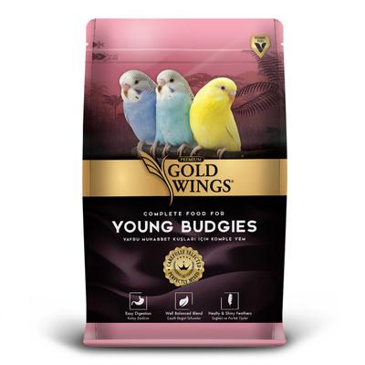 Gold Wings Premium - Premium Yavru Muhabbet 1 kg 5'li