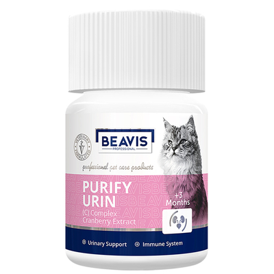 Beavis - Purify Urin Cat C Vitamin Complex 12gr 40 Tablet