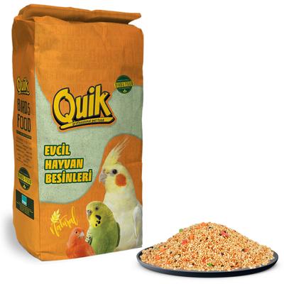 Quik - Q100 Meyveli Lüx Muhabbet Yemi 20 kg