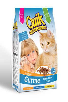 Quik - Quik Gurme Kedi Maması 12 kg.