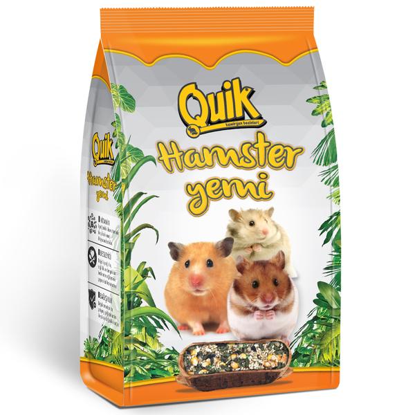 Quik Hamster Yemi 500 gr 6'lı