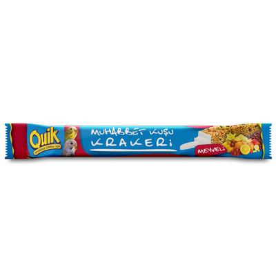 Quik Meyveli Muhabbet Krakeri 36'lı - Thumbnail
