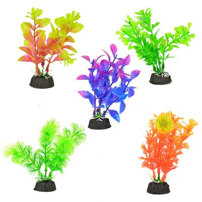 Natural Coral - S310-324 Plastik Bitki 10 cm 10 Adet
