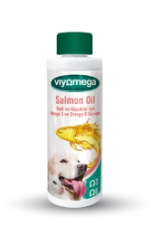 - Salmon Oil Omega 3 - Omega 6 Takviyesi 250 ml