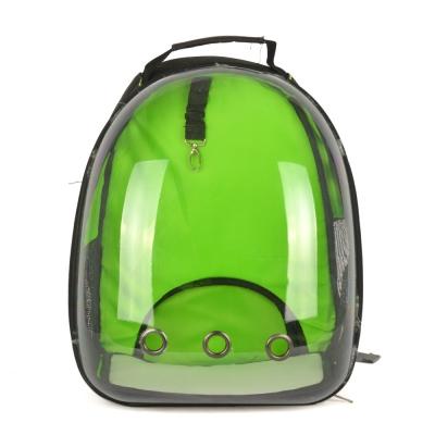 Dougesi - Şeffaf Kedi Köpek Sırt Çantası Yeşil