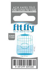 Fit Fly - Silindir Lüx Açık Kafes Tülü 10'lu