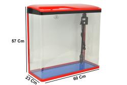 - Sobo SO-600F Akvaryum Kırmızı