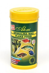 Ahm - Spirulina %35 Flake Food 250 ml