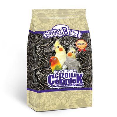 Sweet Bird - Sweet Bird Çizgili Paraket Çekirdeği 500 gr 12 Ad.