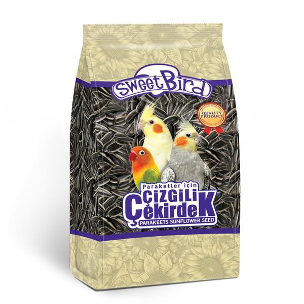 Sweet Bird Çizgili Paraket Çekirdeği 500 gr 12 Ad.