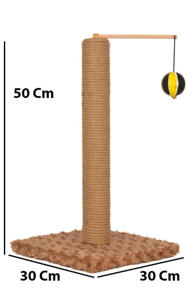 Toplu Tırmalama 50 cm Kahverengi