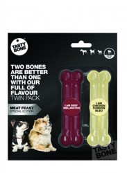 TastyBone - Toy Twinpack Meat Feast 746499