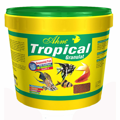 Ahm - Tropical Gran.Food 10 Lt-3 kg