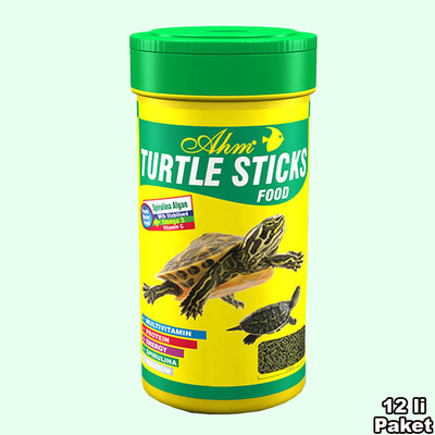 Ahm - Turtle Sticks Green Food 12'li 100 ml