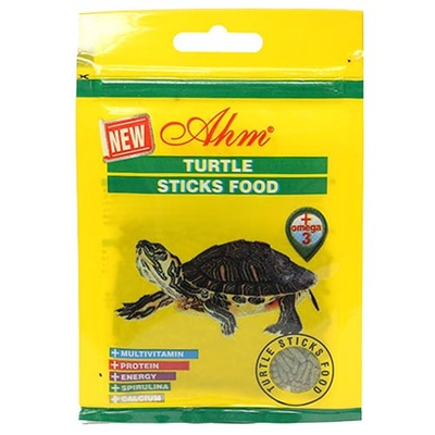 Ahm - Turtle Sticks Green Food 10 gr 24'lü