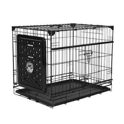 VA203-ELSW1 Katlanır Kapılı Köpek Kafes 76Lx53Wx61 H cm - Thumbnail