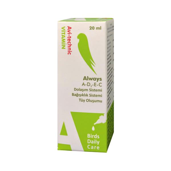 Vitamin A (Tüy Oluşum Destekliyici) 20cc-6 Adet