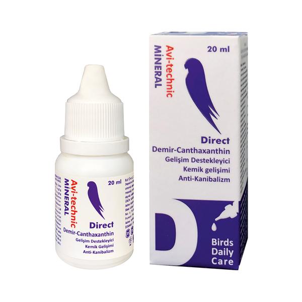 Vitamin D Direct (Demir İçerikli Kemik)20cc-6 Adet