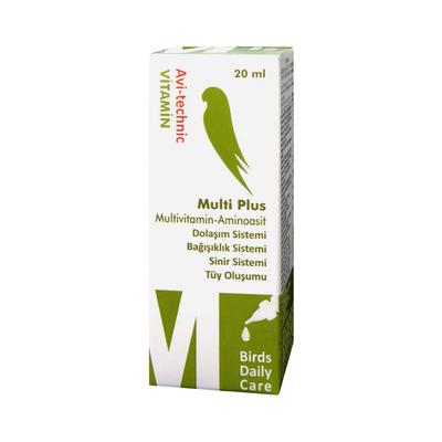 Vitamin M Multi Plus (Dolaşım Sistemi) 20cc-6 Adet - Thumbnail