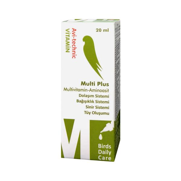 Vitamin M Multi Plus (Dolaşım Sistemi) 20cc-6 Adet