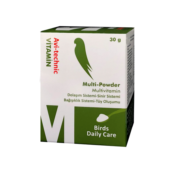 Vitamin M Multi Powder (Destek.Toz Vit.)-6 Adet