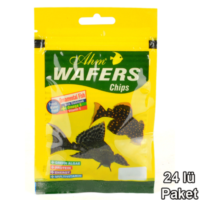 Ahm - Wafers Chips 15 gr 24'lü