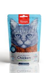 Wanpy - Wanpy Oven Roasted Tavuklu Kıtır Taneli 80 gr Kedi Ödülü