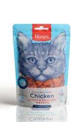 Wanpy - Wanpy Oven Roasted Tavuklu ve Morina Balıklı 80 gr Kedi Ödülü