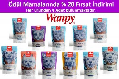 Wanpy Kedi-Köpek Ödül Seti 40 Adet