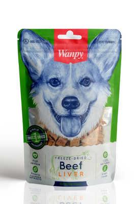 Wanpy - Wanpy Kurutulmuş %100 Dana Ciğeri 40 gr FMA-01 Köpek Ödül