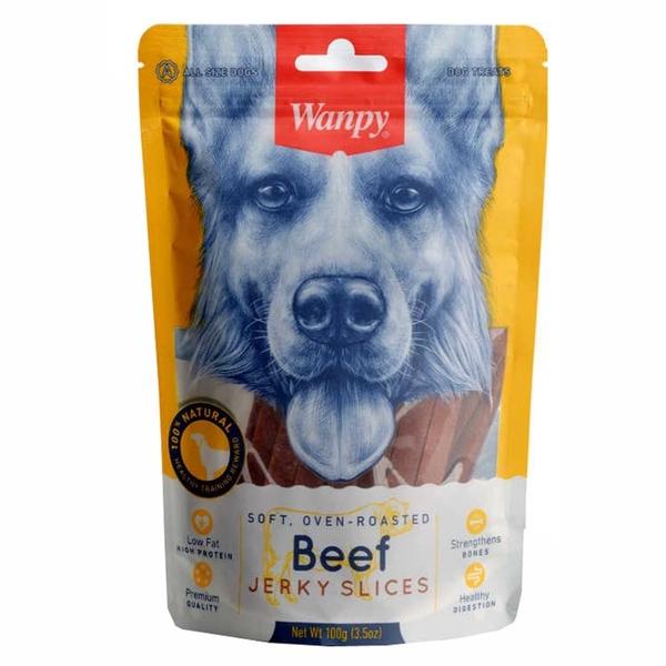 Wanpy Gerçek Biftek Fileto 100 gr MA-04S Köpek Ödülü