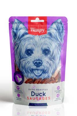 Wanpy - Wanpy Ördek Etli Sosis 100 gr SA-02H Köpek Ödülü