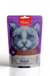 Wanpy - Wanpy Gerçek Ördek Fileto 80 gr Yumuşak Kedi Ödülü