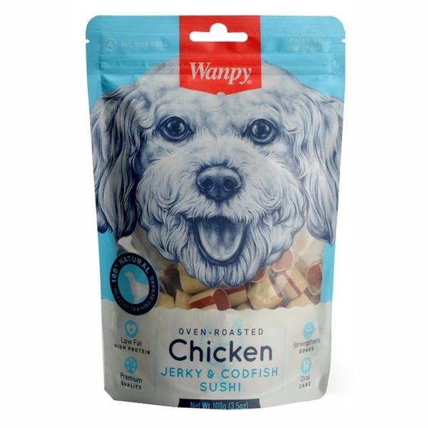 Wanpy Tavuklu&Morina Balıklı 100 gr CC-02 Köpek Ödülü