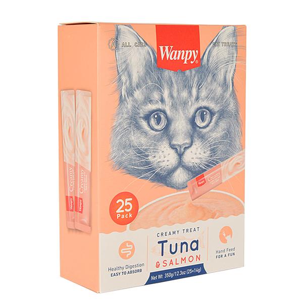 Wanpy Ton Balığı&Somon Sıvı Ödül 25x14 gr RA-052-1