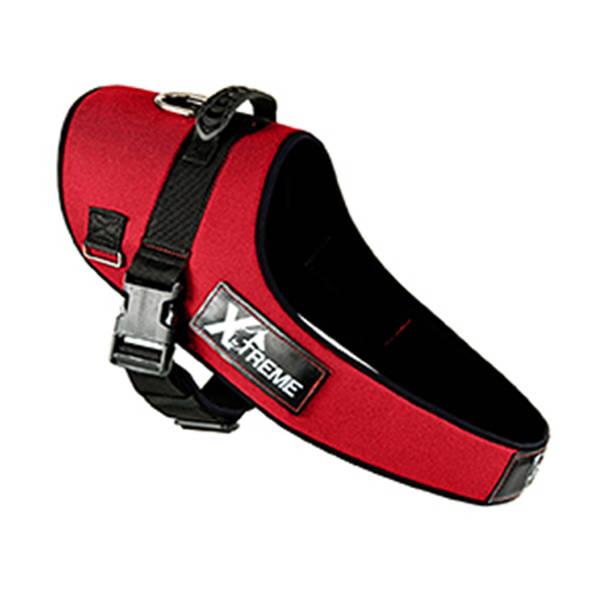 X-TREME Göğüs Tasması Large Kırmızı 70/65-90 cm