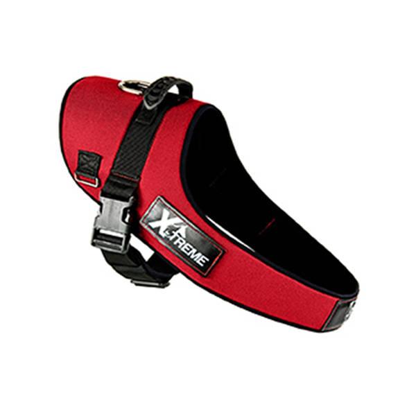 X-TREME Göğüs Tasması Medium Kırmızı 50/55-75 cm