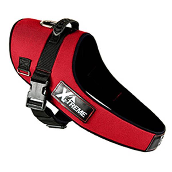 X-TREME Göğüs Tasması XLarge Kırmızı 90/75-110 cm