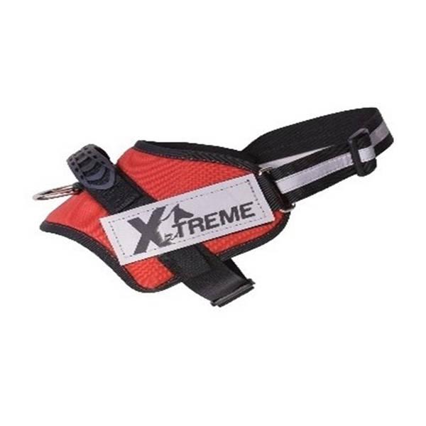 X-TREME-PRO Göğüs Tasması Large Kırmızı Reflektör