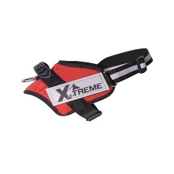X-TREME-PRO Göğüs Tasması Medium Kırmızı Reflektör